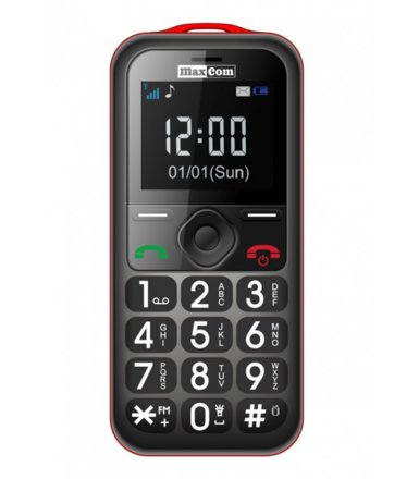 Maxcom MM 560 BB Poliphone/Big button Red/Black