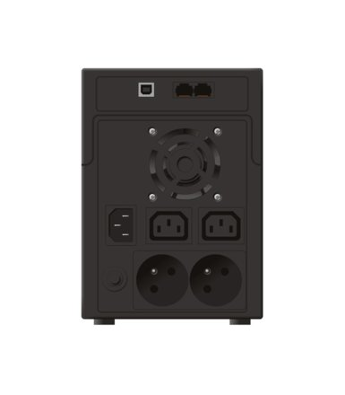 PowerWalker UPS LINE-INTERACTIVE 2200VA 2X 230V PL + 2X IEC OUT,RJ11/RJ45 IN/OUT, USB, LCD