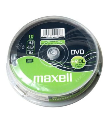 Maxell DVD+R  8,5 GB 8x DOUBLE LAYER CAKE 10szt