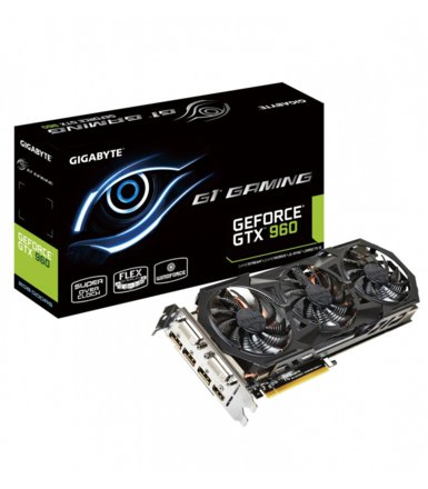 Gigabyte GeForce CUDA GTX960 GAMING 2GB DDR5 128BIT 2DVI/HD/3DP