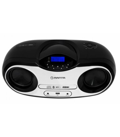 Manta Boombox Silver Rock     MM273