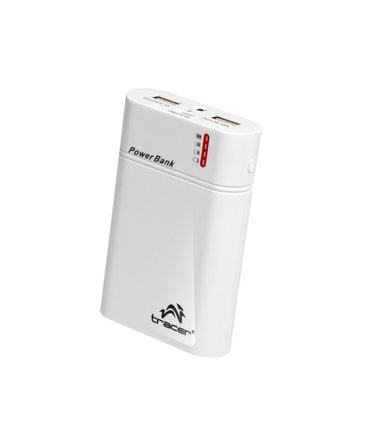 Tracer Power bank 8400 mAh biały