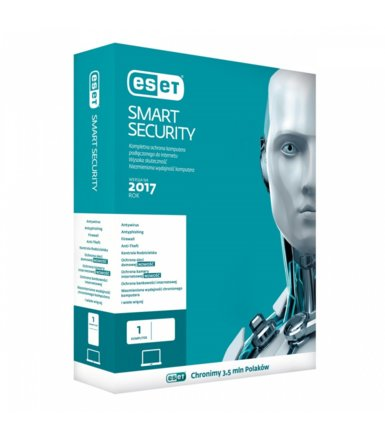 ESET Smart Security PL Box 1U 3Y