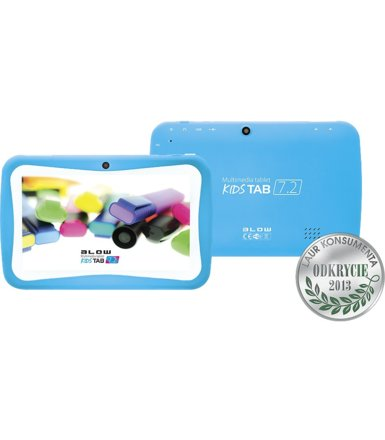 BLOW Tablet kidsTAB 7' BLUE + silikonowe etui