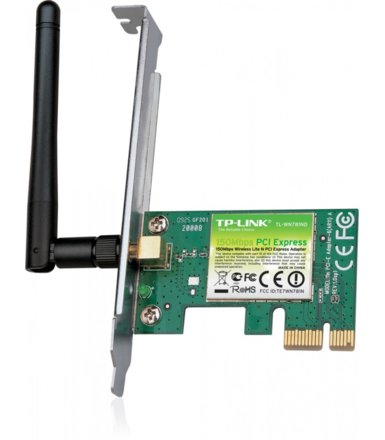 TP-LINK WN781ND karta WiFi N150 PCI-E 1x2dBi (SMA) BOX