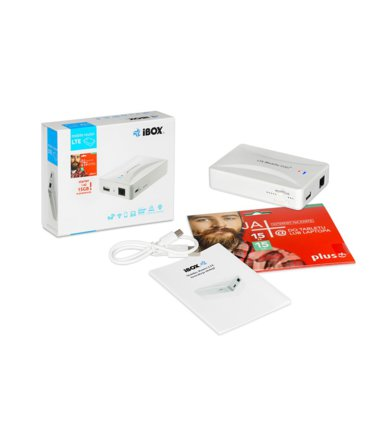 Grandstream iBOX Mobilny Router LTE (Power Bank 5200 mAh)
