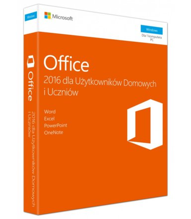 Microsoft Office Home&Student 2016 PL Win 32-bit/x64 P2  79G-04609