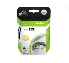 TB Print Tusz do Brother LC123 TBB-LC123B BK