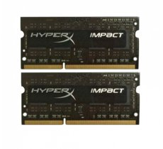 HyperX DDR3 SODIMM HyperX IMPACT BLACK 8GB/1866 (2*4GB) CL11 Low Voltage