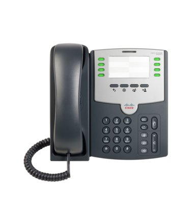 Cisco Telefon IP 8 line PoE plus PC Port SPA501G