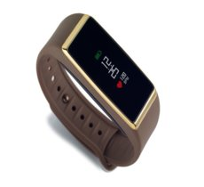 MyKronoz Activity Tracker ZeFit2 Brown Gold Pulse