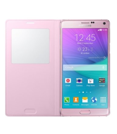 Samsung S View Cover Note 4 LIGHT PINK