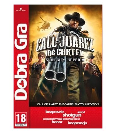 Techland Dobra Gra: Call of Juarez Shotgun Edition PC (napisy PL)