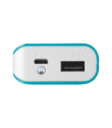 Trust UrbanRevolt PowerBank 4400 Portable Charger - blue