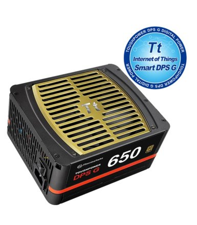 Thermaltake Toughpower DPS G 650W Modular (80+ Gold, 4xPEG, 140mm)