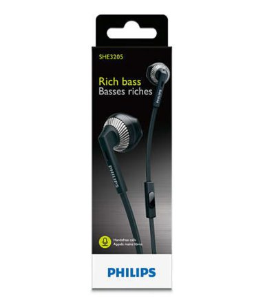 Philips SHE3205BK/00