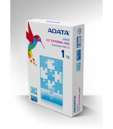 Adata DashDrive HV611 1TB 2.5' USB3.0 Blue
