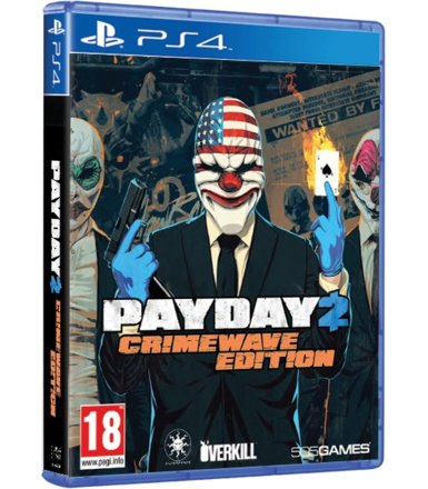 Techland Payday 2: Crimewave Edition PS4