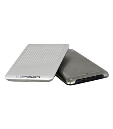 "LC-POWER OBUDOWA 2,5"" LC-PRO-25WU USB 2.0 WHITE ULTRASLIM"