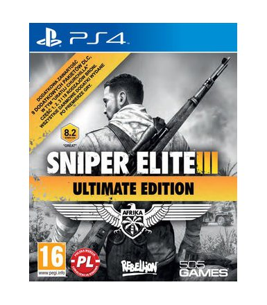 Techland Sniper Elite III Ultimate Edition PS4 PL