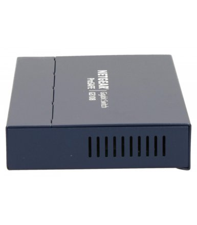 Netgear ProSafe switch L2 8x1GB JUMBO Desktop/Wall Metal NO FAN GS108