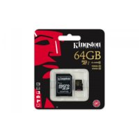 Kingston MicroSDXC 64GB class 10 UHS-I 90/45MB/s