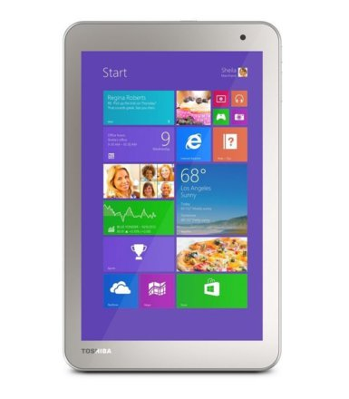 "Toshiba Encore WT8-B-102 Win8.1 w/ Bing + 365 Z373G/1GB/32GB/Intel HD/8"" Touch Gold"