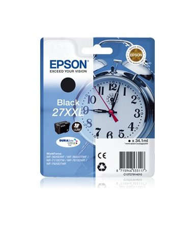 Epson Tusz T2791 BLACK 34.1ml do WF-3620DWF