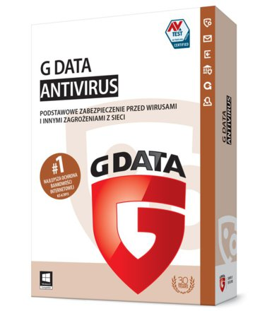 G DATA AntiVirus 2015 UPGRADE 1PC 1ROK BOX