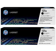 HP Inc. Toner 131A Black 2.4k Dual Pack CF210XD