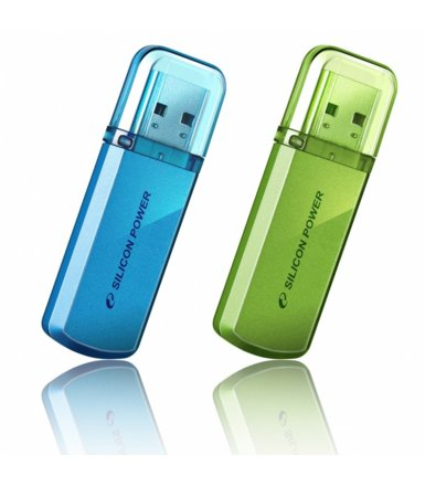 Silicon Power HELIOS 101 8GB USB 2.0 Ocean Blue