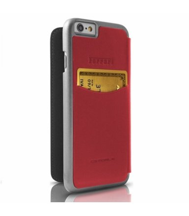 Ferrari Etui Book FESEFLBKP6RE iPhone 6/6S czerwone