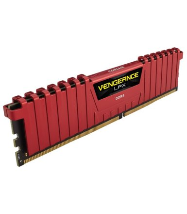 Corsair DDR4 Vengeance LPX 16GB/2400(2*8GB) CL14-16-16-31 RED 1,20V                                                                                   XMP 2.0