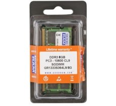 GOODRAM DDR3 SODIMM 8GB/1333 (1*8GB) CL9