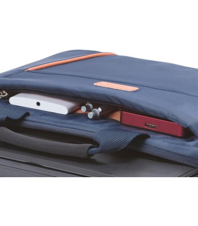 "DICOTA Slim Case BASE 14-15,6"" blue/orange"
