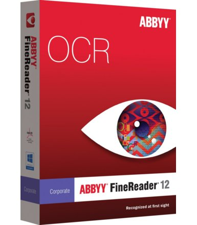 ABBYY FineReader Corporate Edition 12 BOX