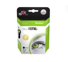 TB Print Tusz do Brother LC127XL TBB-LC127XLB Czarny