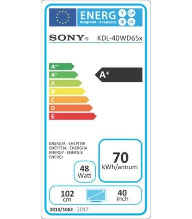 Sony 40''LED KDL-40WD650BAEP