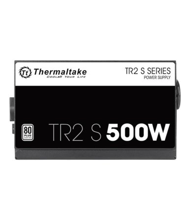 Thermaltake TR2 S Black 500W (80+ 230V EU, 2xPEG, 120mm, Single Rail)