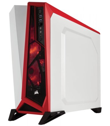 Corsair Carbide SPEC-ALPHA MID-TOWER USB3.0 White/Red