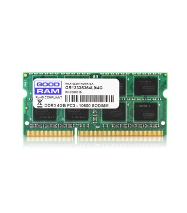 GOODRAM DDR3 SODIMM 4GB/1333 CL9 256*8 Dual Rank