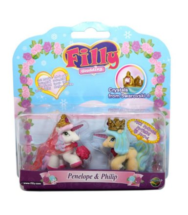 Filly Wedding 2pack Penelope&Philip