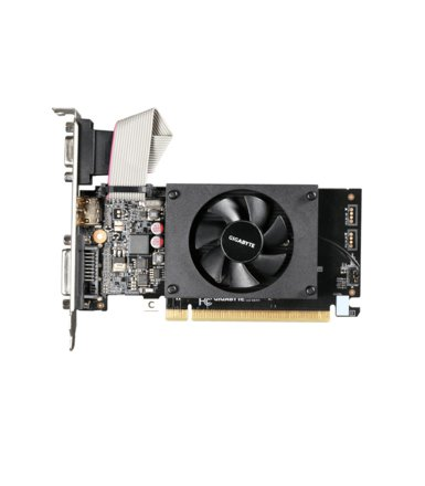 Gigabyte GeForce CUDA GT710 1GB DDR3 64BIT DVI/HDMI/DSUB BOX