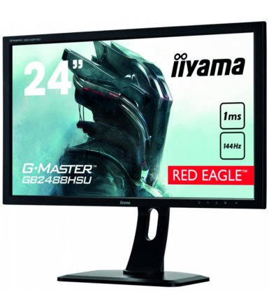 IIYAMA 24'' GB2488HSU-GB2 RED EAGLE 1MS/HDMI/DP/USB/PIVOT