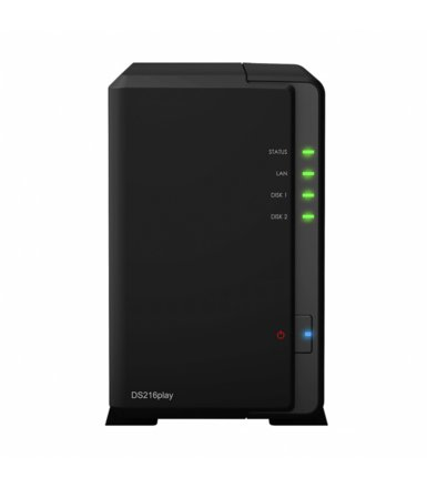 Synology DS216play 2x0HDD 1GB DDR3 STM 2x1.5Ghz H265/VC-1 4K 2xUSB