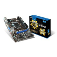 MSI H81M-P33 s1150 H81 2DDR3 USB3/GLAN/HD-audio uATX