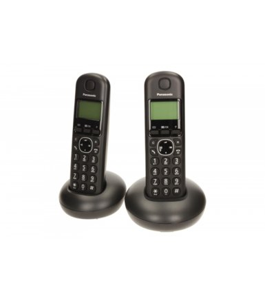 Panasonic KX-TGB212 Dect Black Duo