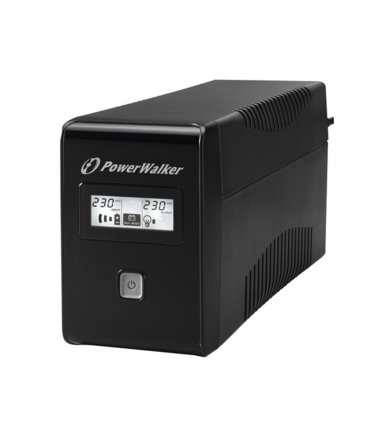 PowerWalker UPS  LINE-INTERACTIVE 850VA 2X SCHUKO OUT, RJ11 IN/  OUT, USB, LCD