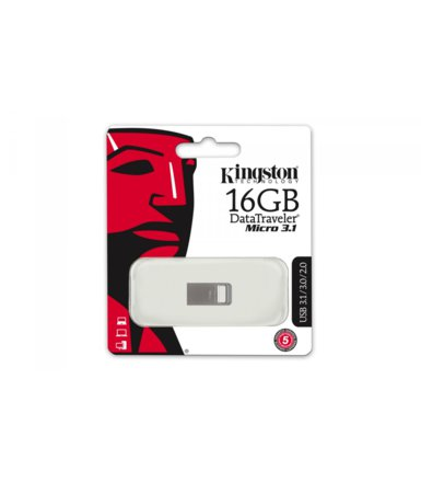 Kingston Data Traveler Micro 3.1 16GB USB 3.1 Gen1