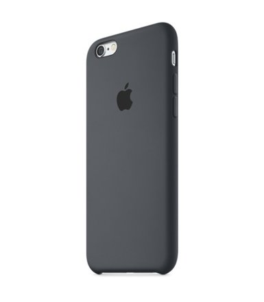 Apple iPhone 6s Silicone Case Charcoal Gray  MKY02ZM/A
